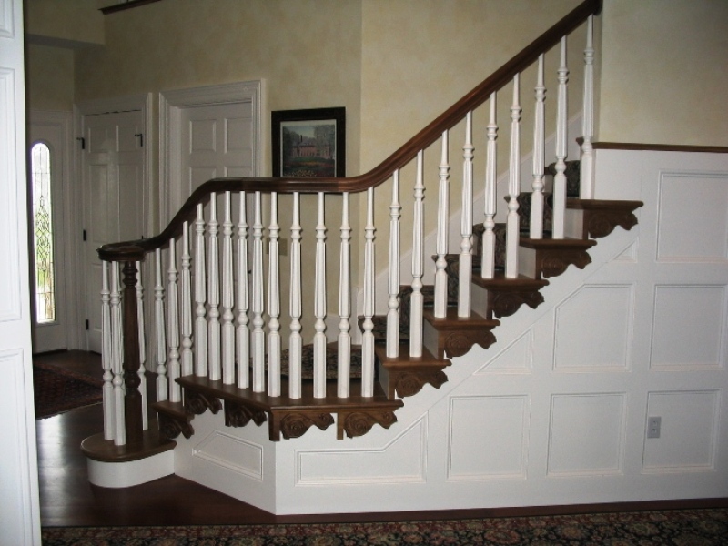 Wood Balusters. Medina Custom Stairs ...